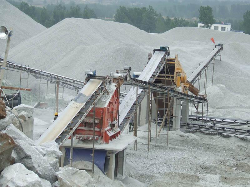贵zhou石料生产线设备现场