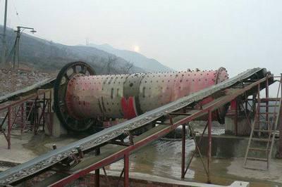 新乡棒磨机制砂生产线